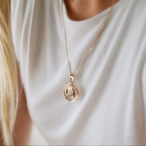 Austrian Coin Necklace | 18k Gold Filled